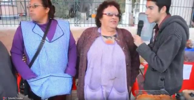 Perro se roba empanada en programa en vivo en Chile