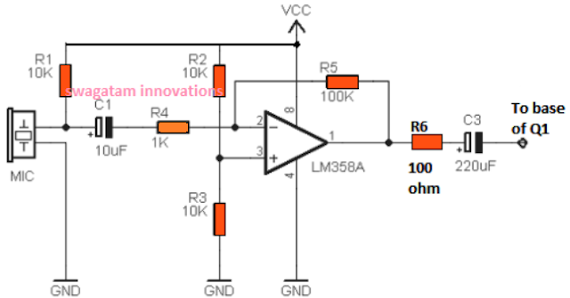 Dog Barking Preventer Circuit ~ Electronic Circuit Projects