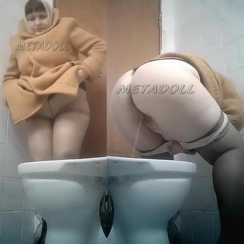 PissWC 208 (Hidden camera in women toilet in the clinic)