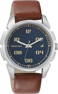 Fastrack NG3124SL02 Bare Basic Analog Men's Watch