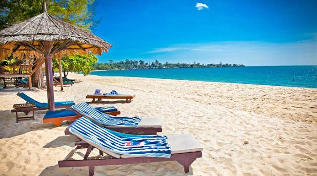 bãi biển kn paradise