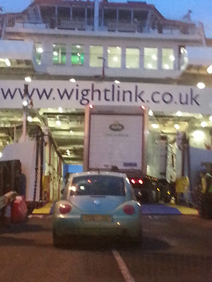 Wightlink Ferry Boarding