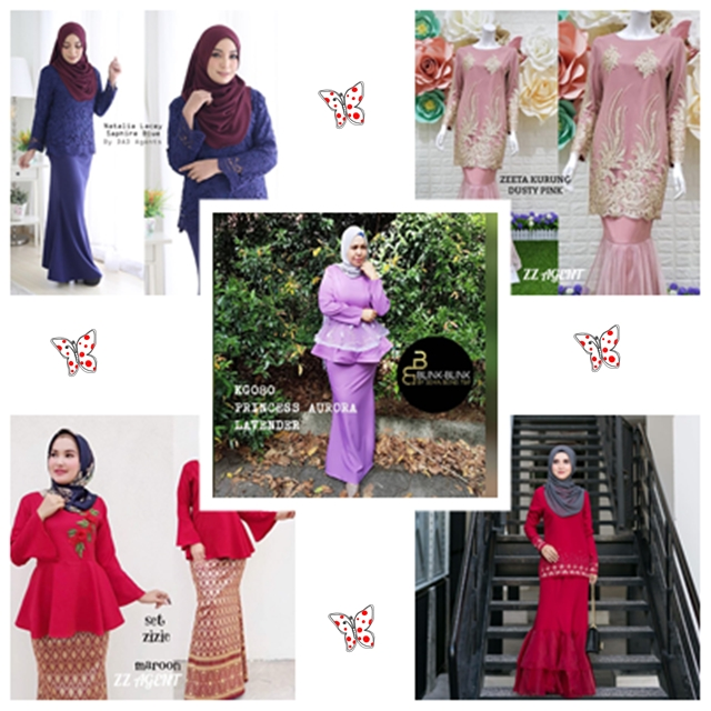 Antara Baju Raya Trend Terkini Baju Raya 2018
