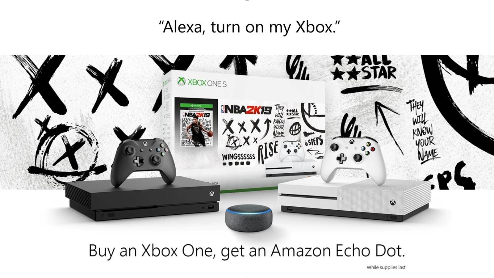 Alexa-Cortana-Xbox