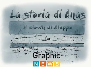 La storia di Anas, il clown di Aleppo