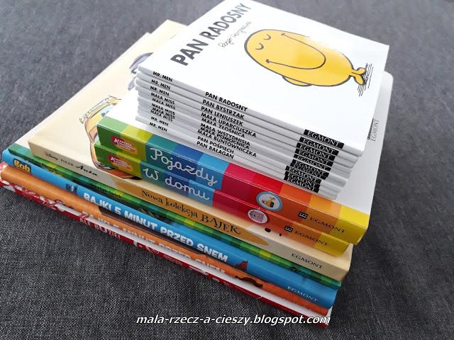Wiosenne nowości książkowe w naszej dziecięcej biblioteczce