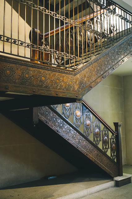 シカゴ証券取引所の階段 (Staircase from Chicago Stock Exchange Building)
