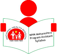 NHM Maharashtra Program Assistant Syllabus