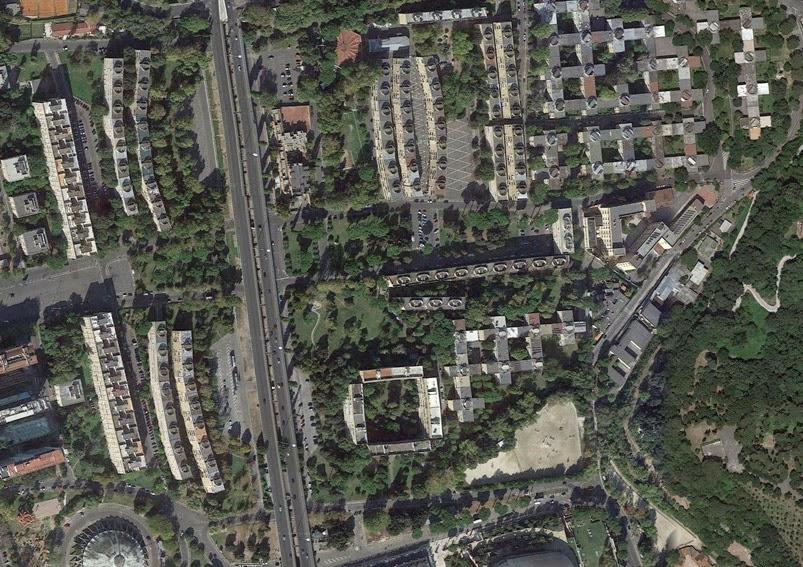 Dov 39 l 39 architettura italiana villaggio olimpico for Villaggio olimpico