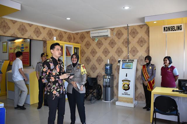 Kemenpan RB Evaluasi Pelayanan SPKT, SKCK dan Pembuatan SIM di Polres Muba