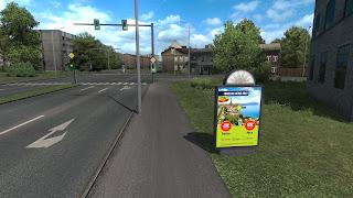 ets 2 real advertisements v1.3 screenshots, latvia 9