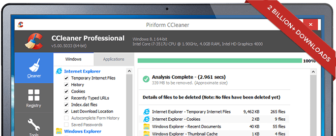 CCleaner Terbaru 5.30.6065 Full Version