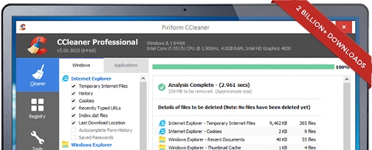 CCleaner Professional Business Terbaru 5.30.6065 Full Version