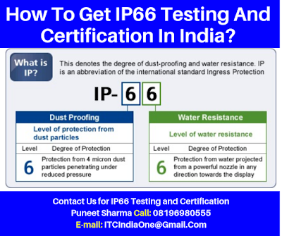 How To Get IP66 Testing And Certification In India