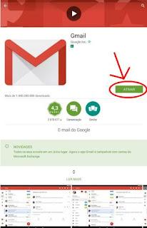 Abrir Gmail no celular