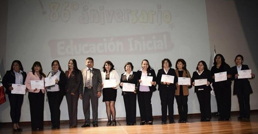 DRELM reconoce a más de 60 instituciones educativas de inicial - www.drelm.gob.pe
