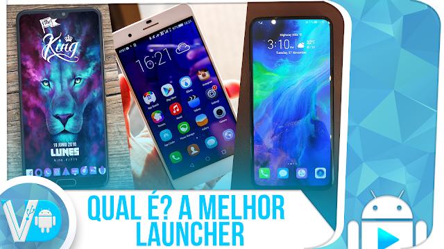 QUAL É A MELHOR LAUNCHER p/ Android? | Hyperion vs Lawnchair vs Poco [COMPARATIVO]