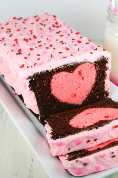 Fragola torta del cuore