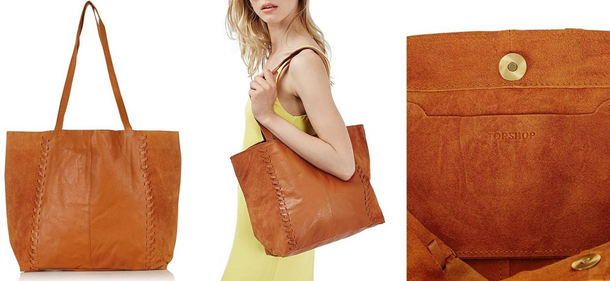 Topshop Woody Whipstitch Satchel for only $35 (reg $70) + free shipping!