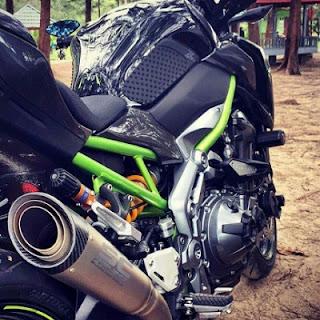 kerangka tralis Kawasaki Z900