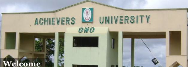 Achievers University Cut off Mark 2019
