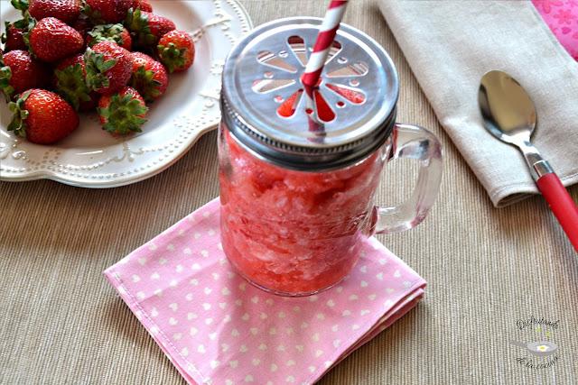 Granizado de fresas