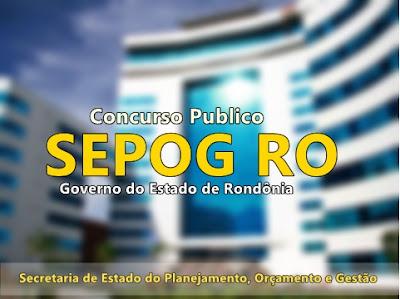 Apostila Sepog de Rondônia 2017