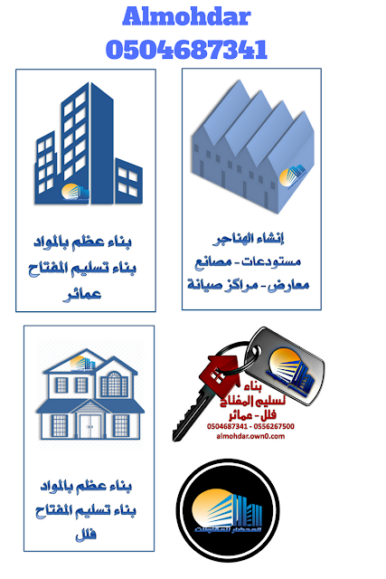 Almohdar Construction Infographics