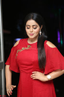 Poorna in Maroon Dress at Rakshasi movie Press meet Cute Pics ~  Exclusive 142.JPG