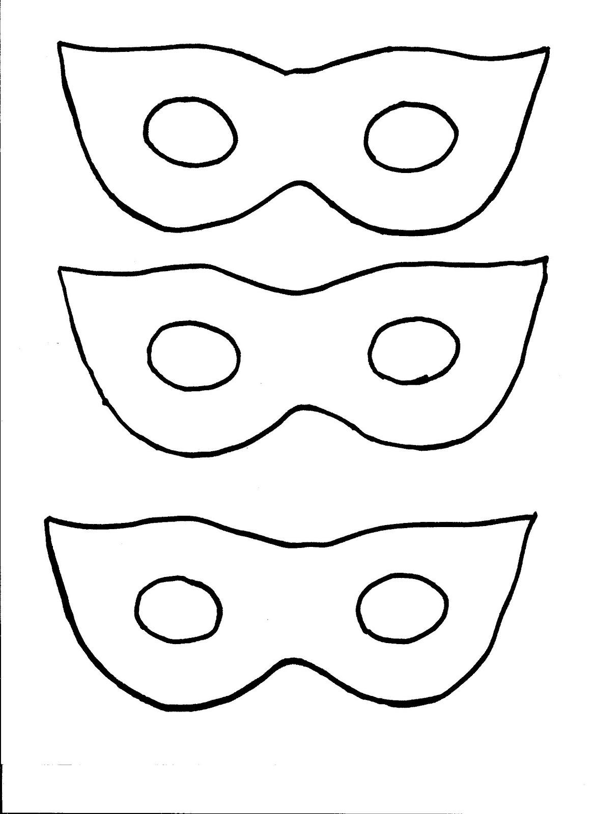 Printable Masquerade Masks Templates – Printable Mask Template
