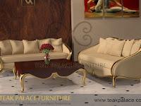 Luxury Sofa minimalis ruang tamu mewah