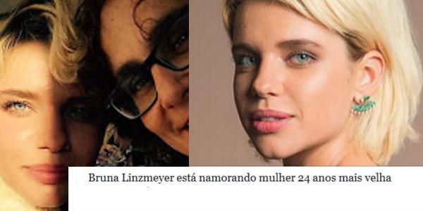 Bruna Linzmeyer está namorando mulher 24 anos mais velha