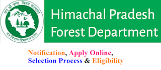 HP Forest Department Recruitment 2017 Eligibility & Apply Online for hpforest.nic.in