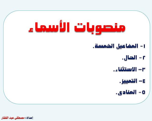 """انفراد.... كل قواعد اللغة العربية لطلاب """"ابتدائي - اعدادي - ثانوي"""" في صورة لوحات مبسطة مع الشرح والتدريبات 81"""