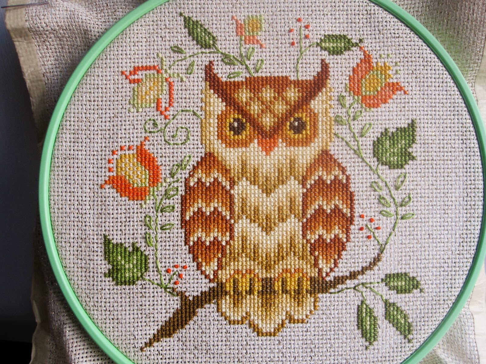 Calico S Whimsy Two Owl Cross Stitch Projects