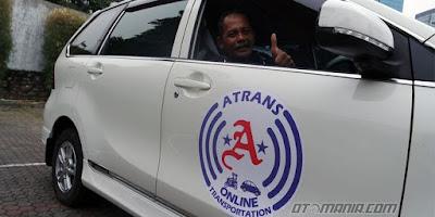 transportasi online berbasis aplikasi Atrans