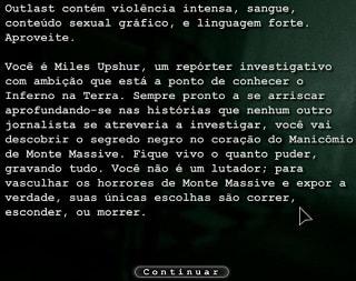 Outlast traduzido em Português Game PC Windows