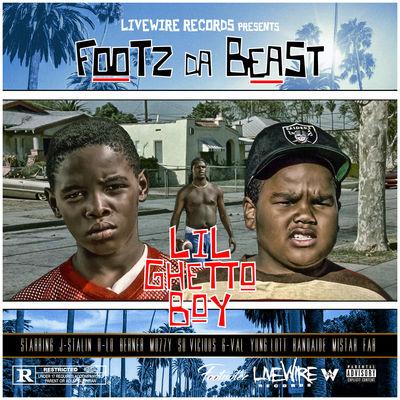 Footz Da Beast - Lil Ghetto Boy - Album Download, Itunes Cover, Official Cover, Album CD Cover Art, Tracklist
