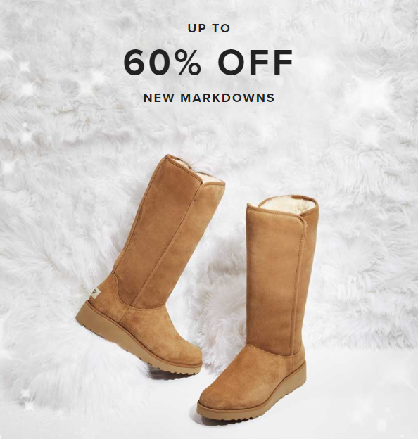 6c0a11333 UGG Closet is open!!! This is a pop-up sale that has awesome deals on UGGs,  including 50% off select slippers! Hurry, the sale ends tomorrow.