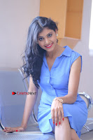 Telugu Actress Mounika UHD Stills in Blue Short Dress at Tik Tak Telugu Movie Audio Launch .COM 0127.JPG