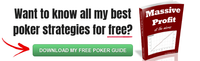 How to beat the micro stakes poker games