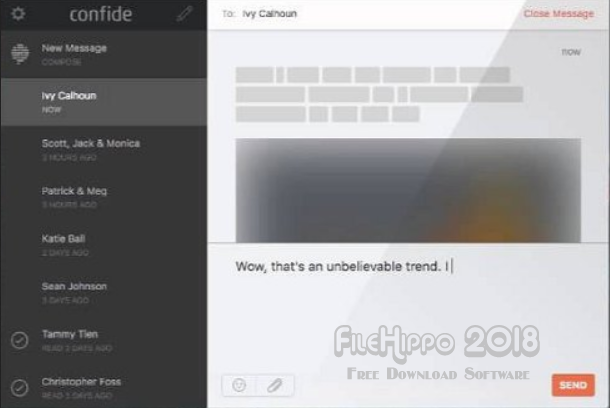 Download Confide 1.5.9 Latest Version 2018