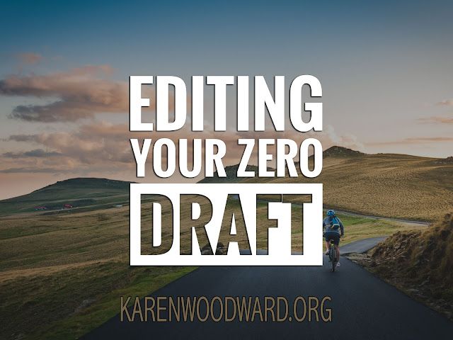 Editing Your Zero Draft