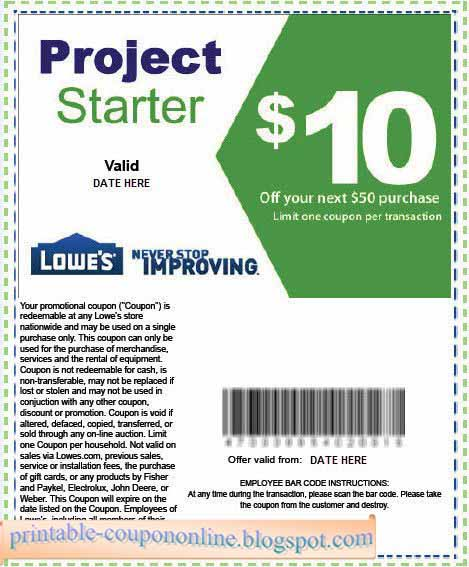 Our coupon editors pick and choose the best deals at Lowe's and combine them with the latest Lowe's coupon or printable coupons to get you the best possible deal online or in-store. Combine Lowe's sales and promo codes to get the best savings valid for December