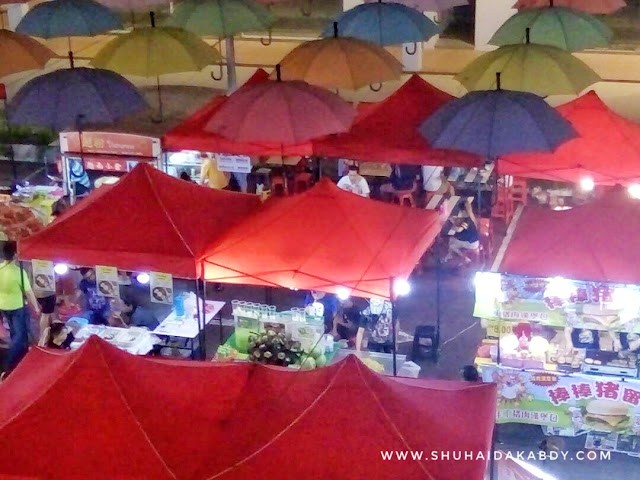 Pasar Malam di Anggun City Rawang