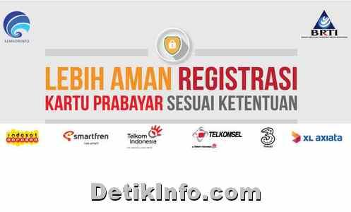 Cara Registrasi Ulang Kartu Prabayar dengan KTP dan KK