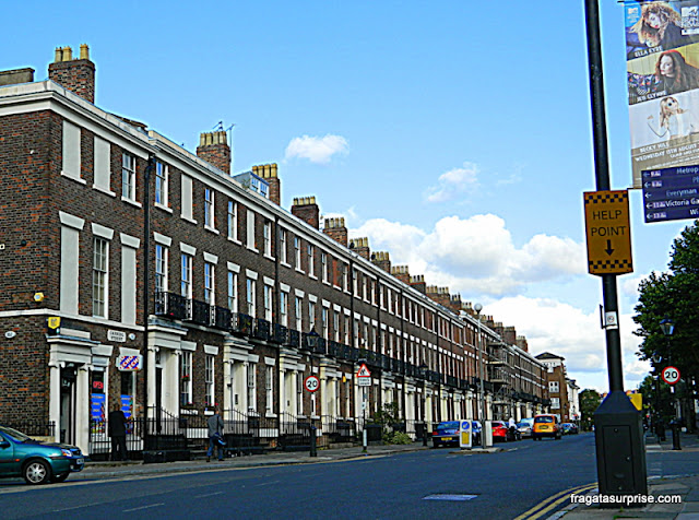 Casa de John Lennon e Stu Sutcliffe em Canning Street, Liverpool