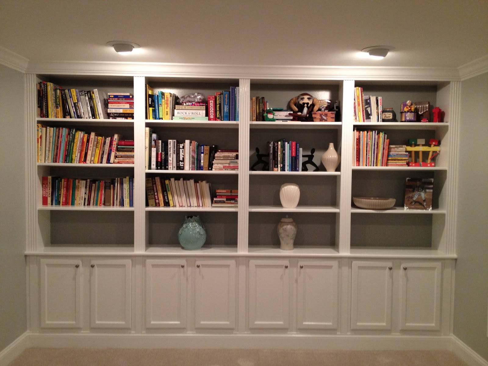 living room bookshelves ideas kraus designs bookcase styled three ways 15636