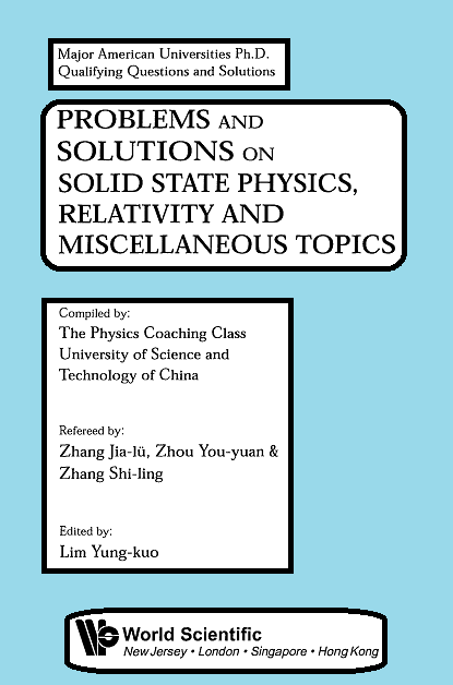 pdf book : Problems and Solutions on Solid State Physics, Relativity