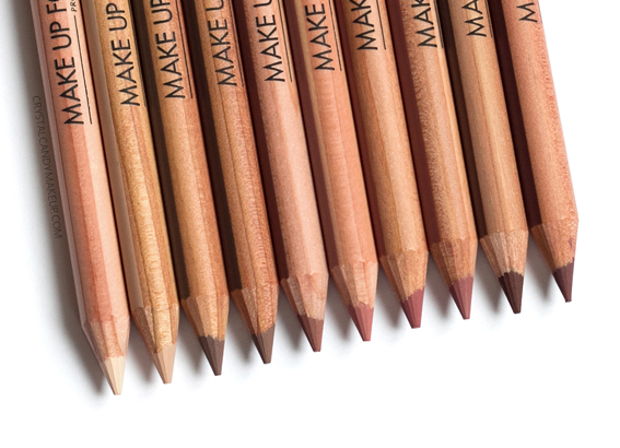 Make Up For Ever Artist Color Pencils MUFE Review 500 502 506 508 600 602 604 606 608 610